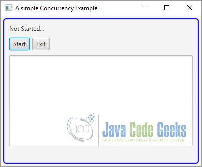 JavaFX Concurrency Example | Examples Java Code Geeks - 2019