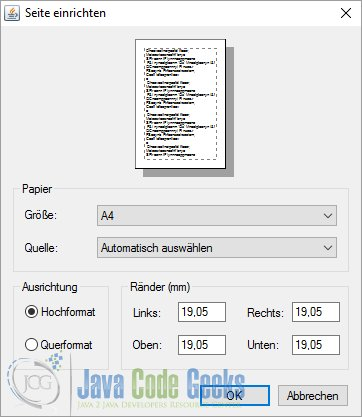 The JavaFX Print API   Examples Java Code Geeks - 2019