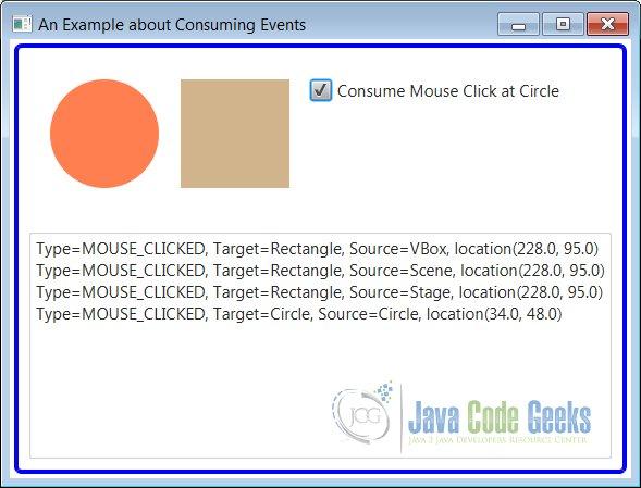JavaFX Event Example | Examples Java Code Geeks - 2019