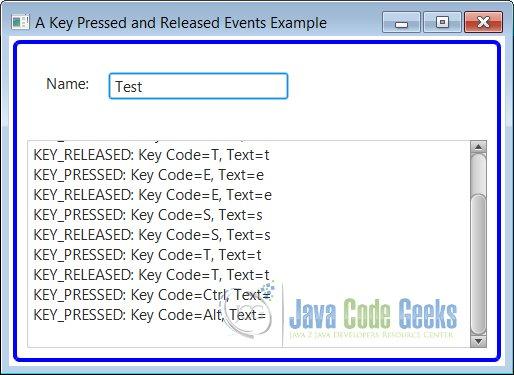 JavaFX Input Event Example | Examples Java Code Geeks - 2019