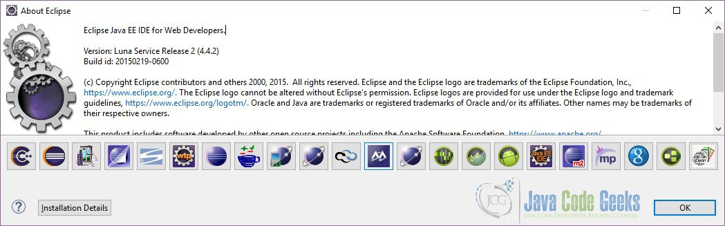 latest eclipse version for java