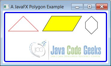 A JavaFX Polygon Example