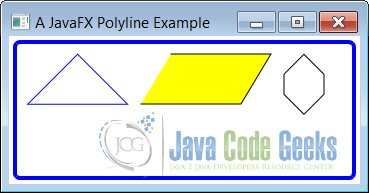 A JavaFX Polyline Example