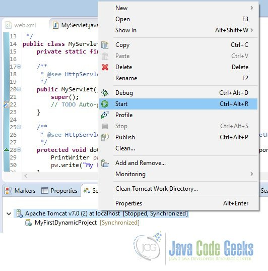 Eclipse Web Development Tutorial | Examples Java Code Geeks - 2019