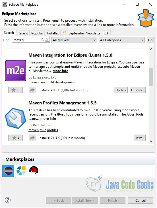 How to install plugin in Eclipse | Examples Java Code Geeks