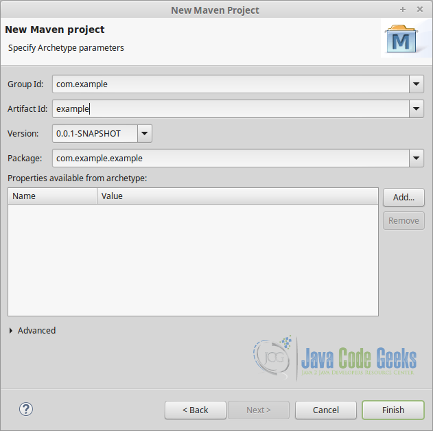 """maven project The dialog in figure 39, """"importing a maven project"""" is displayed by using the file, import command in eclipse and then filtering the options by entering the word maven."""