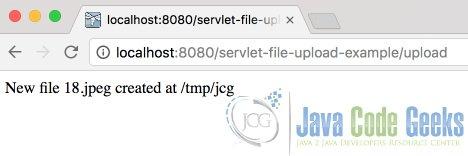 Java Servlet File Upload Example   Examples Java Code Geeks