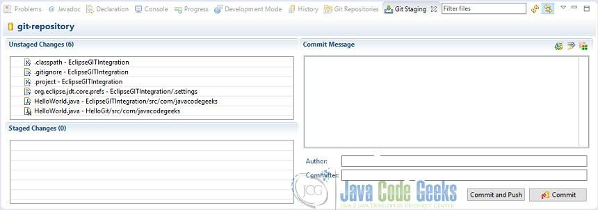 Eclipse IDE Git Integration Tutorial | Examples Java Code