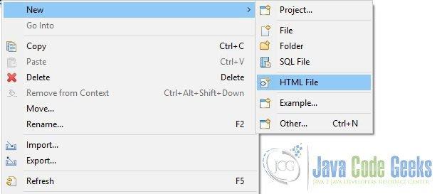 Eclipse IDE AngularJS Tutorial   Examples Java Code Geeks - 2019