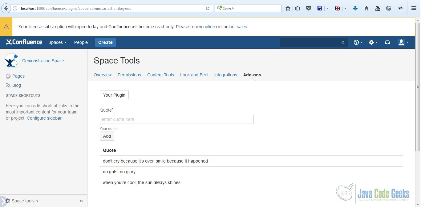 How to Add Active Objects to Your Confluence Add-on