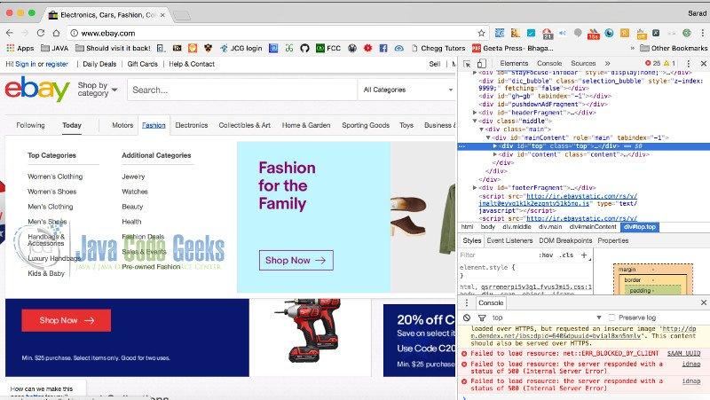 Selenium Tutorial for Beginners | Examples Java Code Geeks - 2019