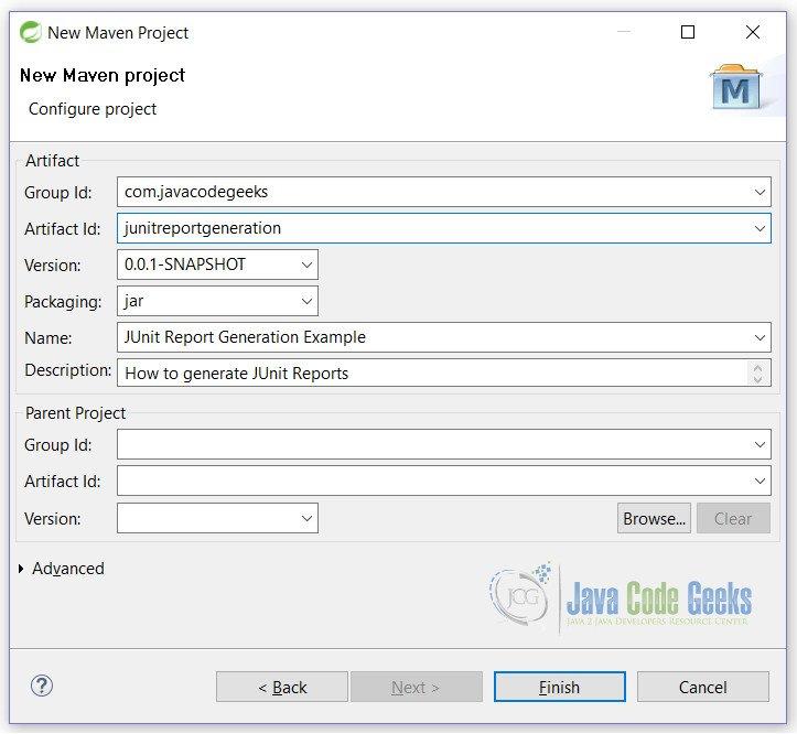 JUnit Report Generation Example | Examples Java Code Geeks - 2019