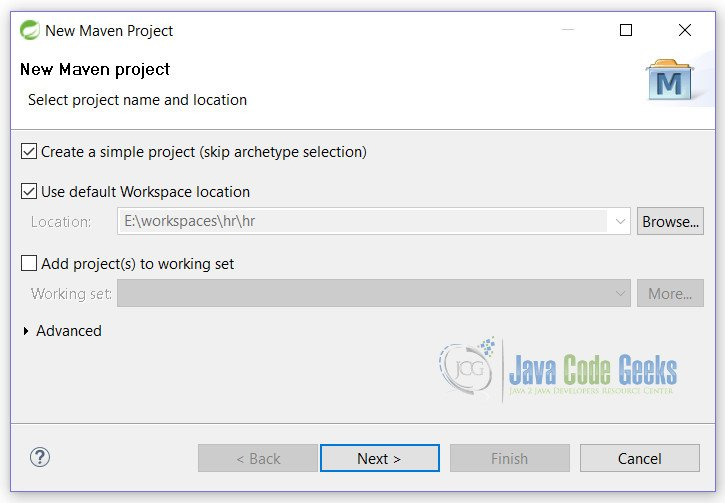 JUnit Test Constructor Example Setup 1