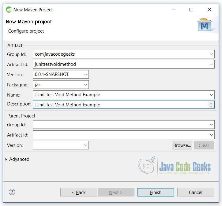JUnit Test Void Method Example | Examples Java Code Geeks - 2019