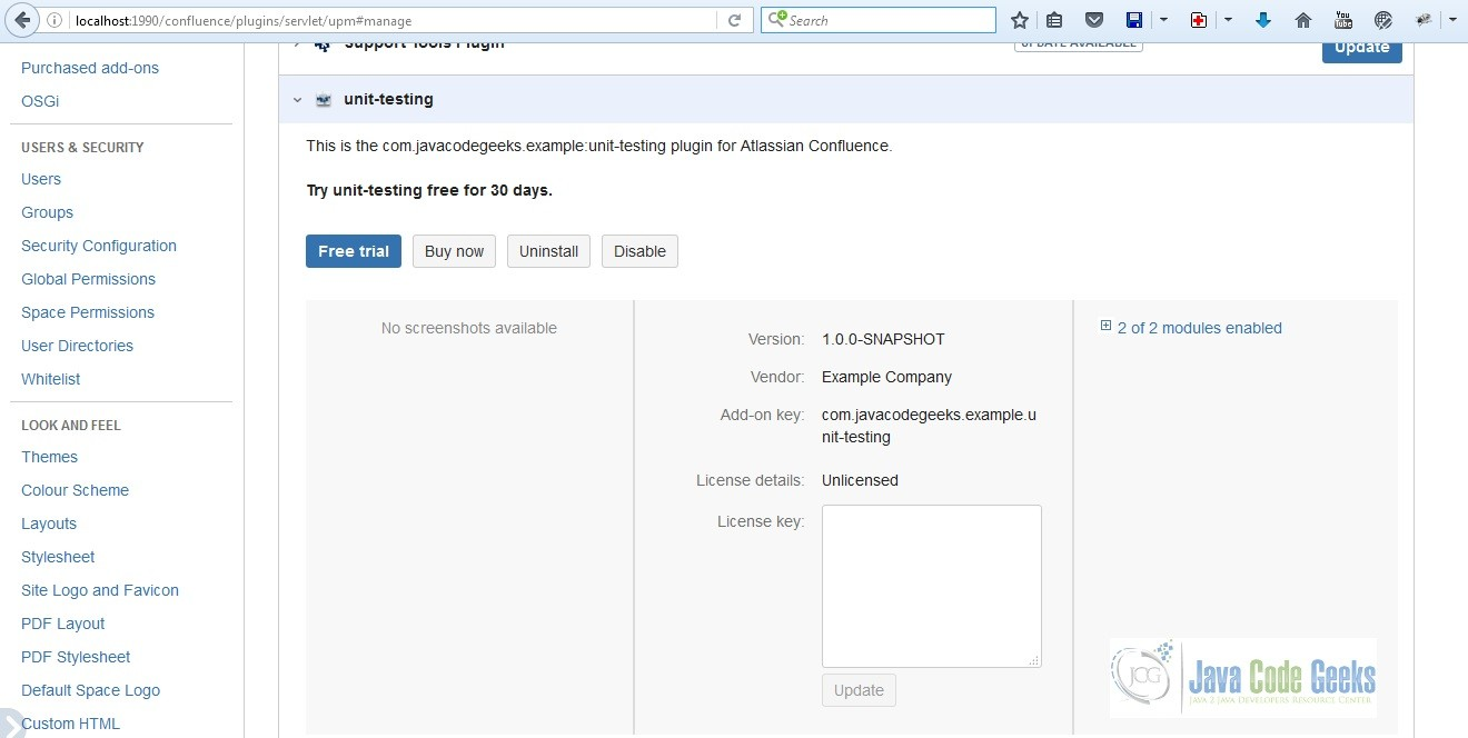 How to Add Licensing Support to Your Confluence Add-on