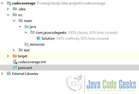 IntelliJ IDEA Run with Coverage Example | Examples Java Code