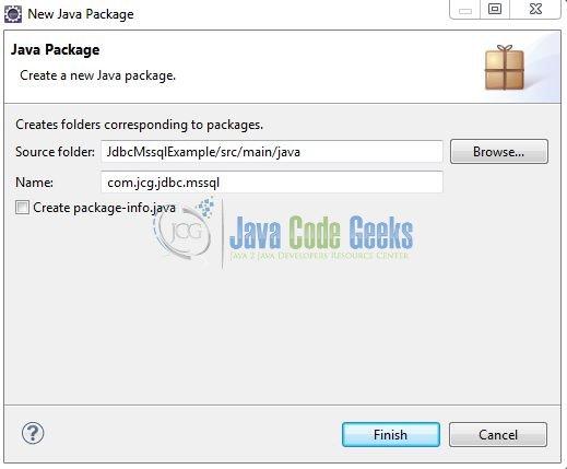 Java JDBC MSSQL Connection Example | Examples Java Code