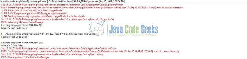 Spring Caching Tutorial | Examples Java Code Geeks - 2019
