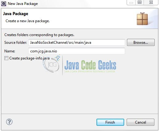 Fig. 8: Java Package Name (com.jcg.java.nio)