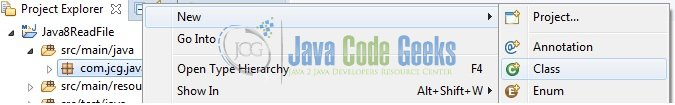 Java Read File Line by Line - Java Class Creation