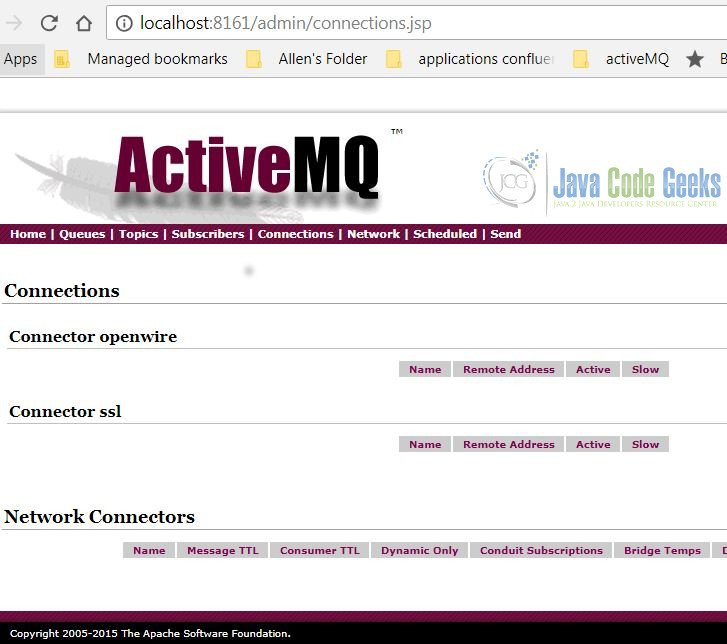 Apache ActiveMQ SSL Example | Examples Java Code Geeks - 2019