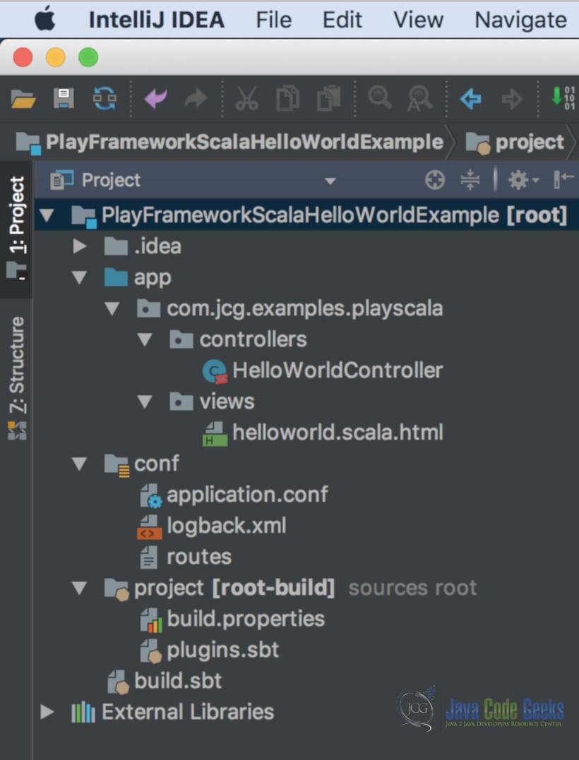Play! Framework Hello World Example | Examples Java Code Geeks - 2019