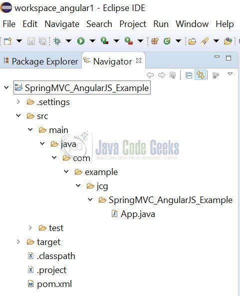 Spring MVC 4 AngularJS Example | Examples Java Code Geeks - 2019
