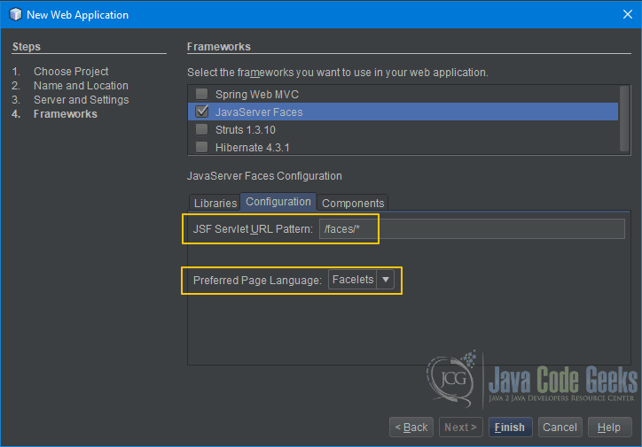 JSF Application NetBeans Example | Examples Java Code Geeks - 2019