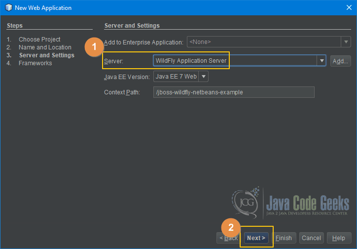 JBoss WildFly NetBeans  - Server and Settings