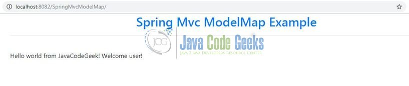 Spring MVC ModelMap Example | Examples Java Code Geeks - 2019