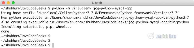 MySQL Python Example | Examples Java Code Geeks - 2019
