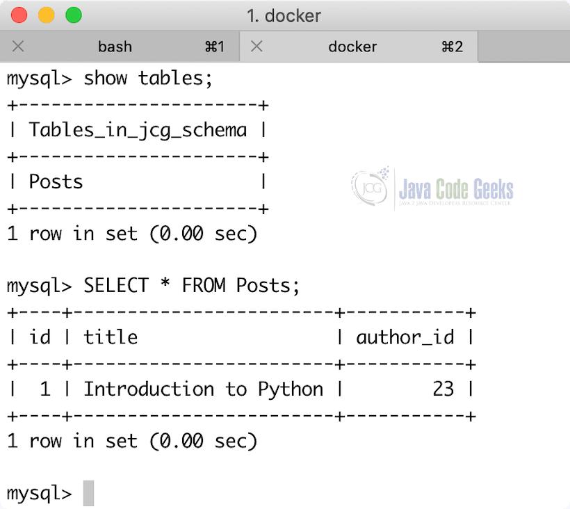 MySQL NodeJS Example   Examples Java Code Geeks - 2019