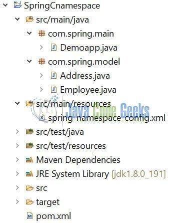 Spring c-namespace Example | Examples Java Code Geeks - 2019