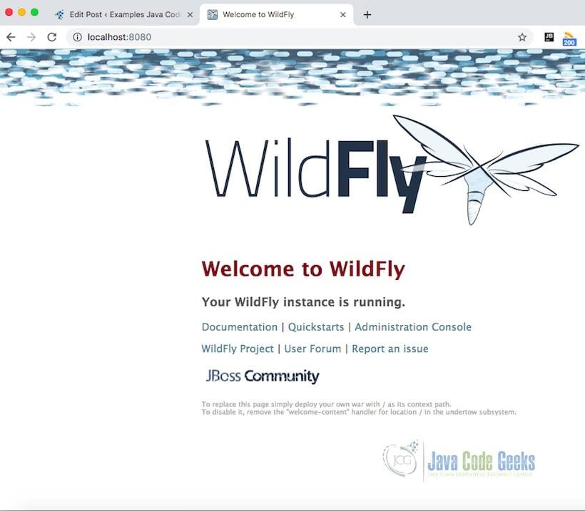 JBoss Wildfly Cluster Example | Examples Java Code Geeks - 2019