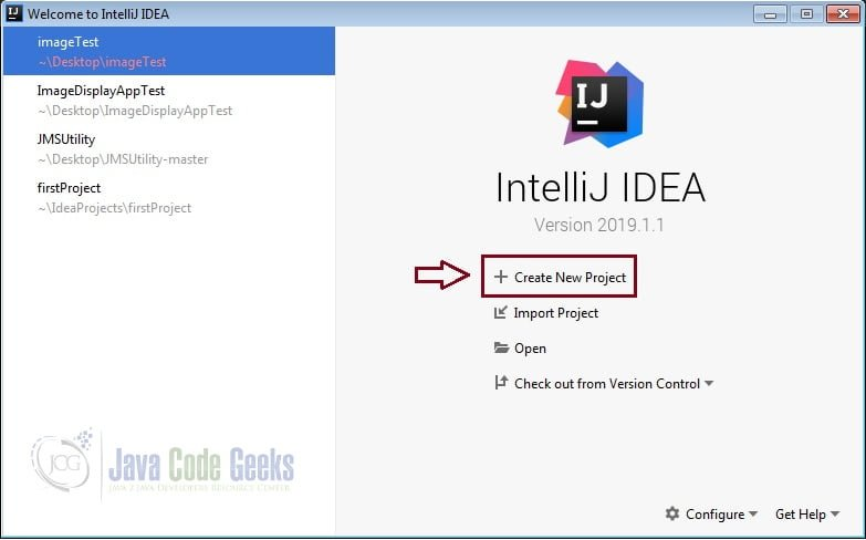 IntelliJ IDEA GUI Designer - new java project
