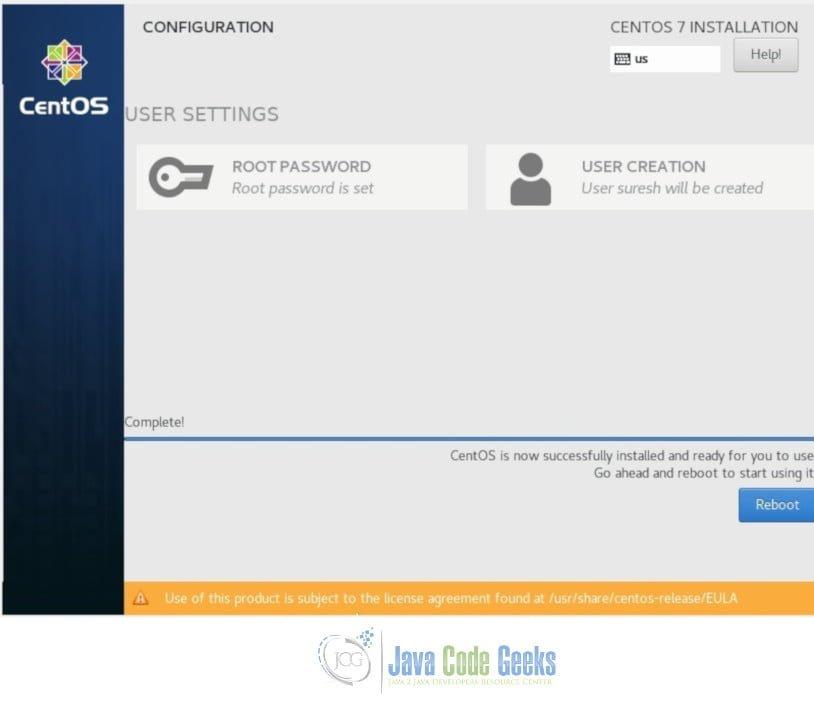 Docker Install on CentOS Example | Examples Java Code Geeks