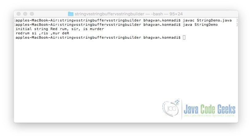 String vs StringBuffer vs StringBuilder | Examples Java Code