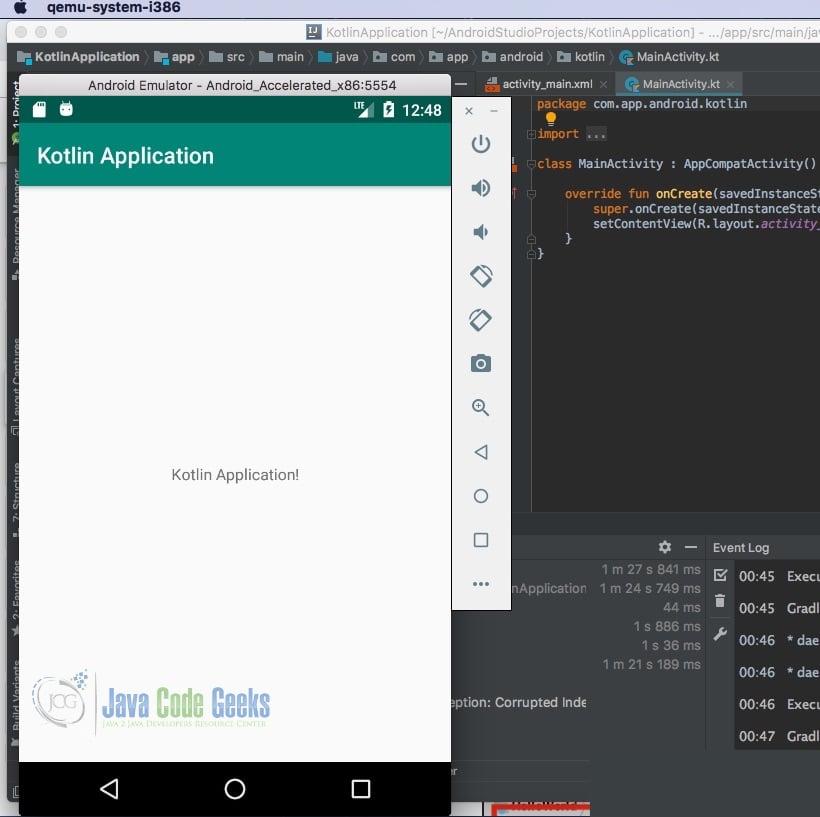 Android Development: Kotlin vs Java   Examples Java Code