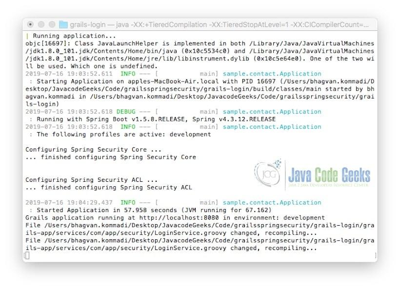 Grails Spring Security Tutorial   Examples Java Code Geeks - 2019