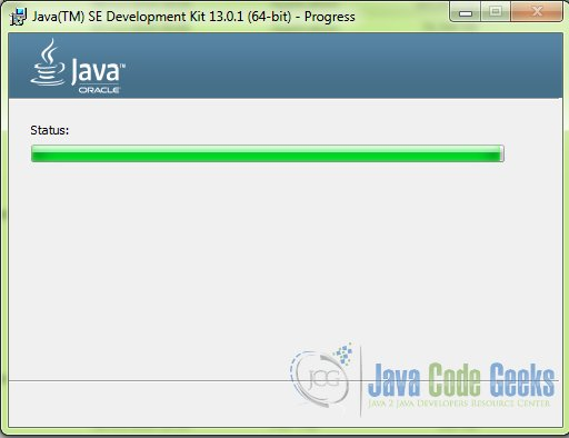 download Java 64 bit - step 3