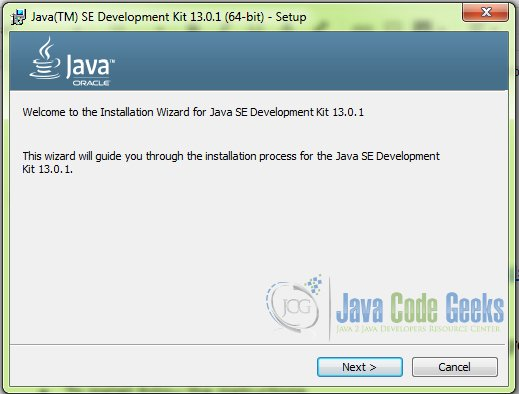 download Java 64 bit - step 1
