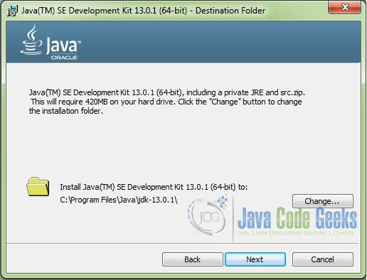 download Java 64 bit - step 2