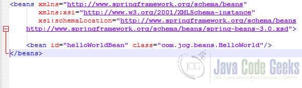Spring Framework Example - Spring Beans XML configuration