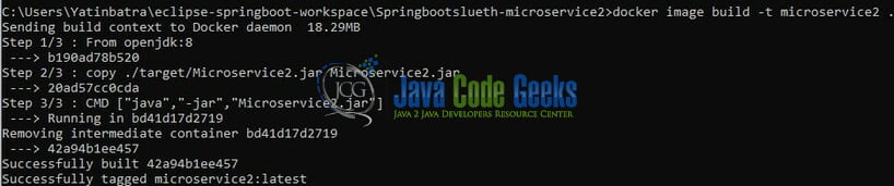 Spring Boot Microservices Docker