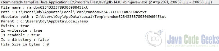 java write string to a file  examples java code geeks  2021